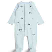 Blue Emb Farm Babygrow
