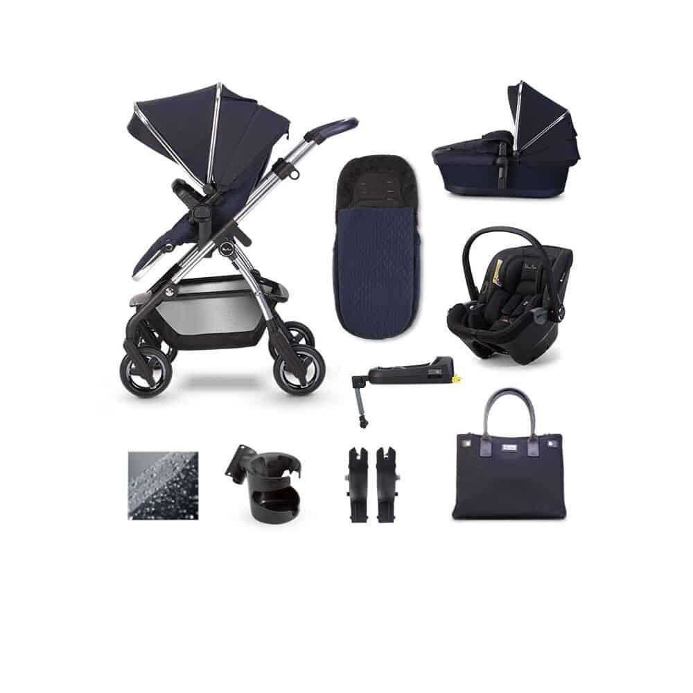 Silver Cross Wayfarer 2020 Dream I-Size Isofix Bundle Sapphire