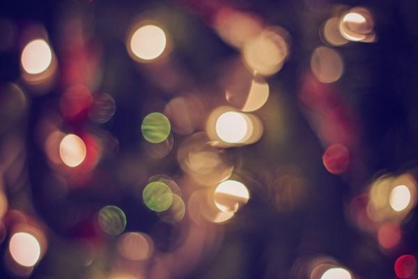 Christmas Tree Bokeh   katili*made   http://katilimade.com