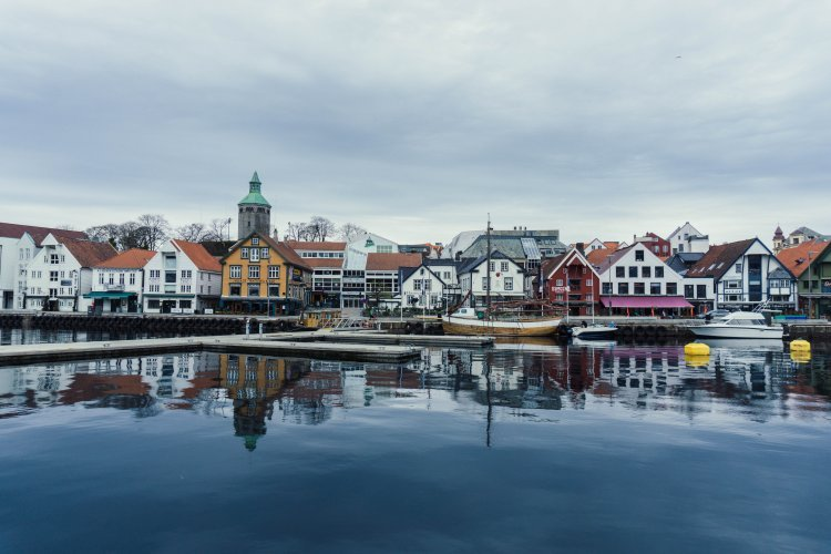 Image of Stavanger harbour in Norway