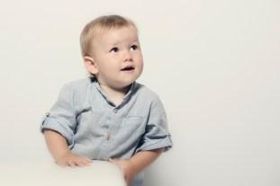 Fotografía de estudio infantil