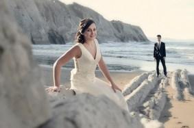 Fotografía de boda en Zumaia