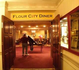 Flour City Diner entrance