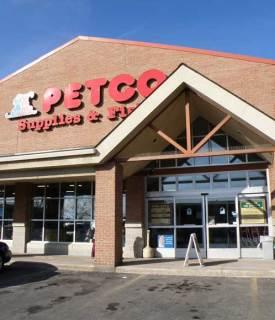 Petco entrance