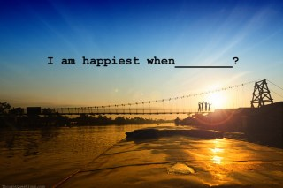 i'm happiest when