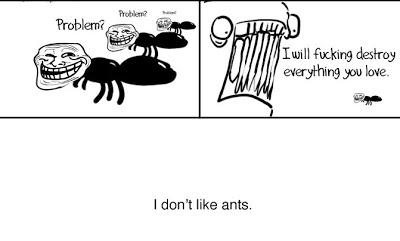 rage i hate ants
