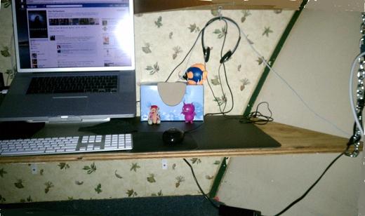 Starboard desk corner