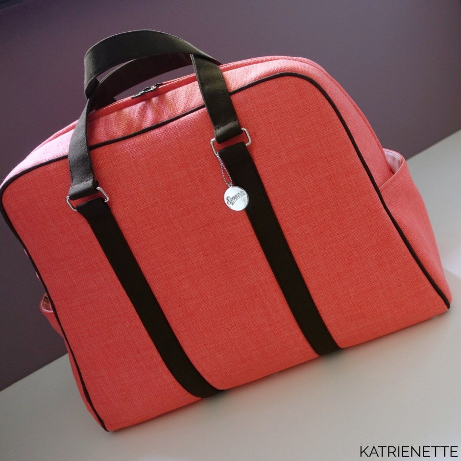katrienette swoon swoonpatterns vivian traveler bag tas style-vil stylevil fast2fuse reistas weekendtas zelf genaaid bagmaker sewingblogger