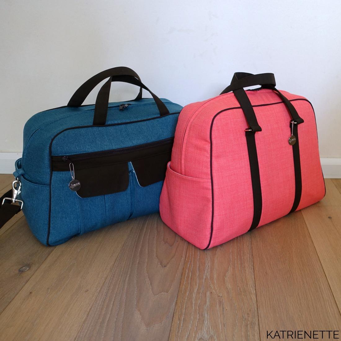 Stella weekender katrienette swoon swoonpatterns vivian traveler bag tas style-vil stylevil fast2fuse reistas weekendtas zelf genaaid bagmaker sewingblogger