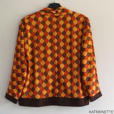Katrienette cardigan vest vestje blogmeet sewchallenge sew challenge fairy tailors interlock #woohoochallengeaccepted