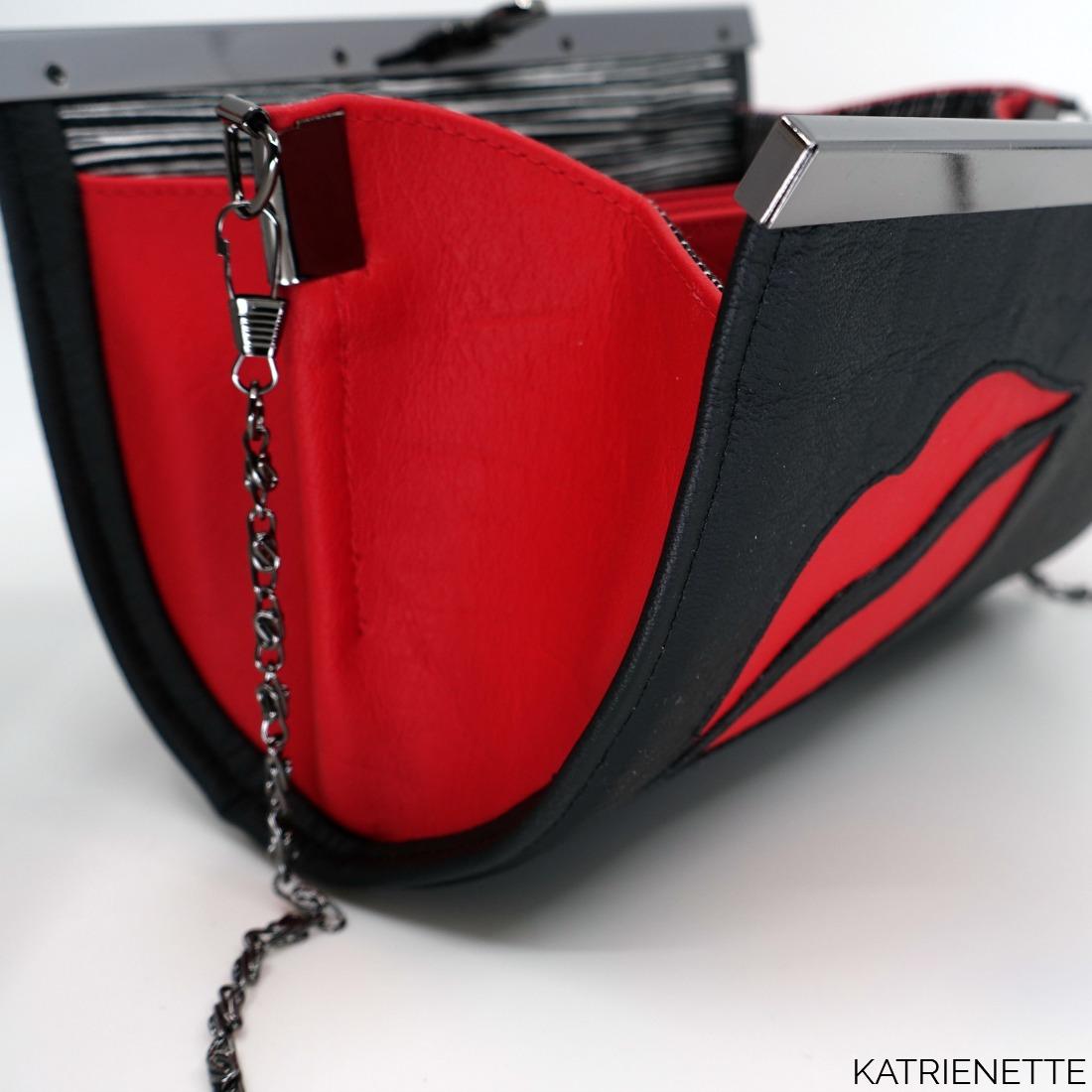 katrienette K-bas k-bas.be Kbassen madammen met kbassen kabas blog tour blogtour Joy clutch kunstleer faux leather rozy sewing bags bagmaker naaien sisko by mieke free pattern gratis patroon clutch