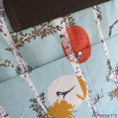 Katrienette explorer tote small large weekend bag sewing bags naaien tas tassen weekend kunstleer stof katoen noodlehead