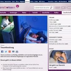 Planet Wissen (WDR): Traumforschung