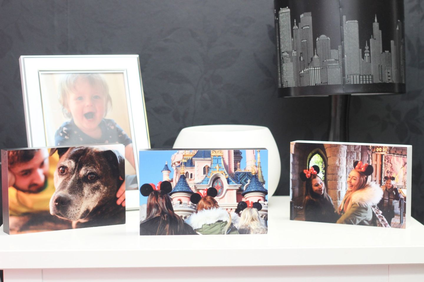 Tesco Photo Gifts Blocks and Frame