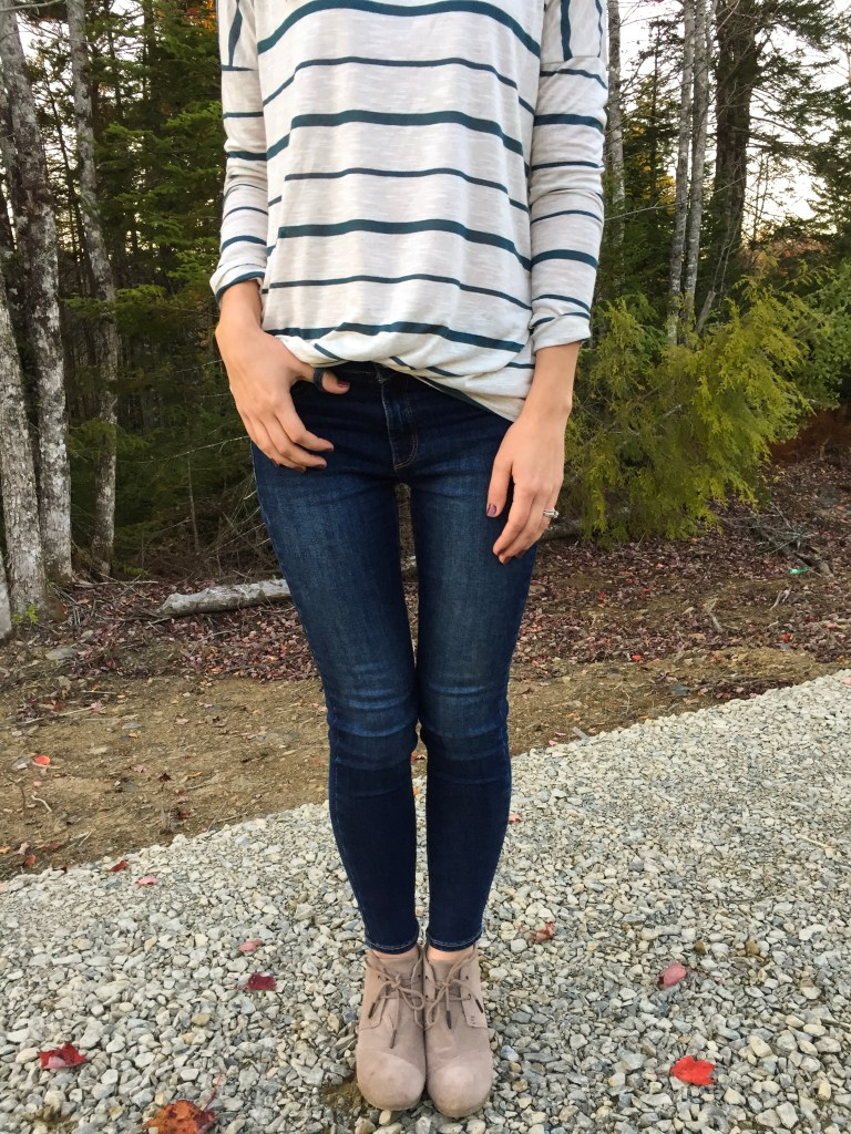 Stripes are the best fall trend with Katrina Gwen Rose and Shop Pink Blush