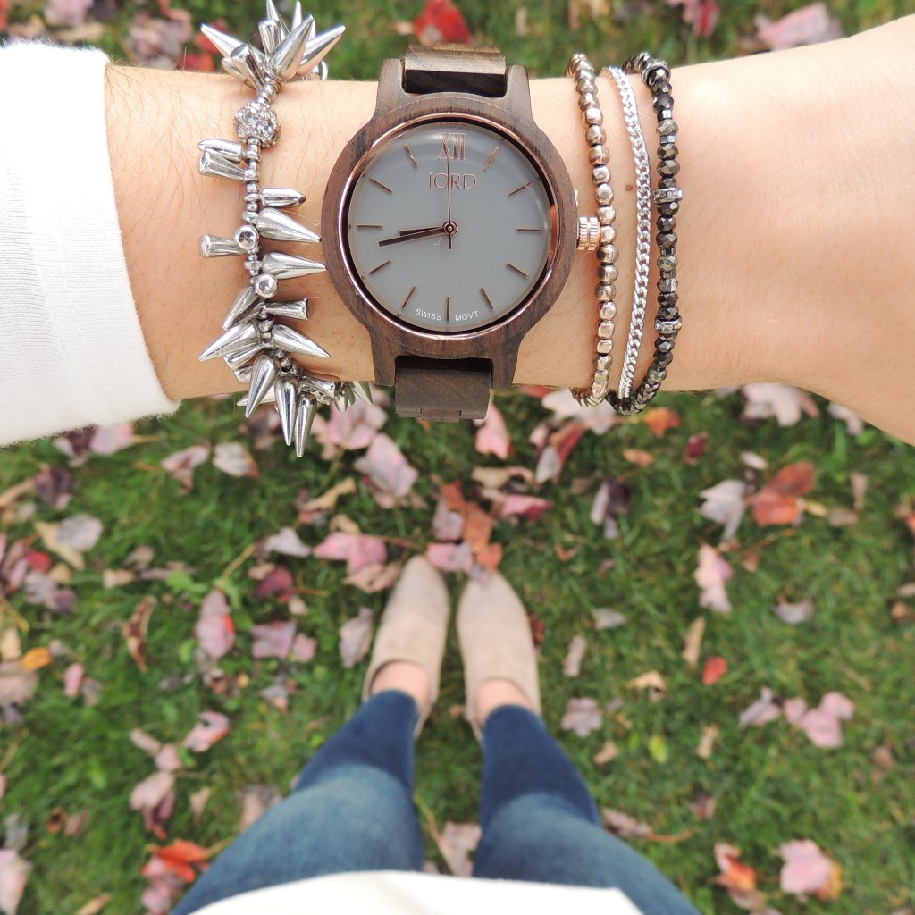 Arm Party with Stella & Dot and JORD Watches
