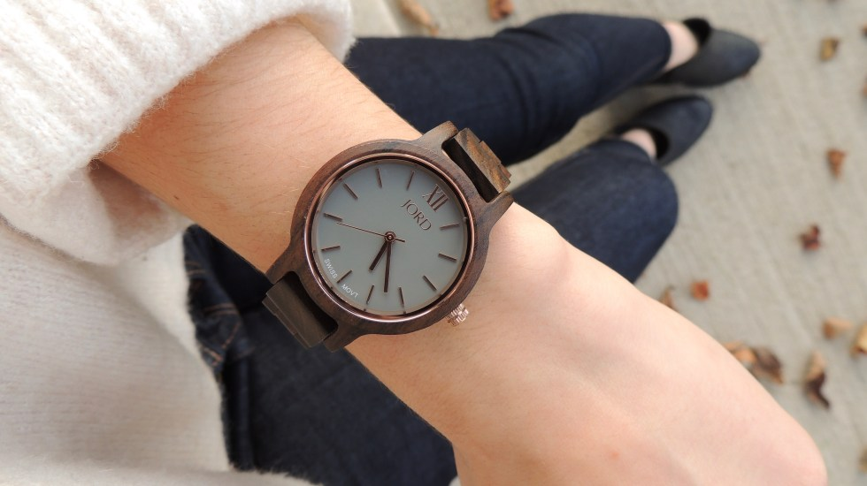 Unique wood watches by JORD