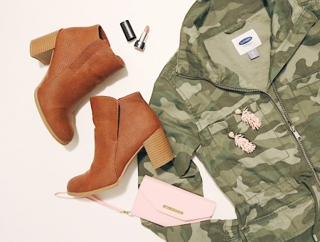 Camo Jacket 3 ways l Katrina Gwen Rose