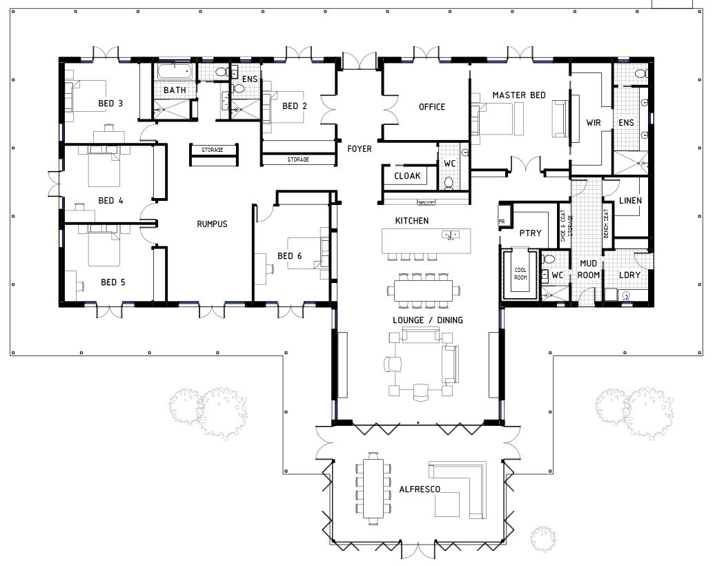 Floor Plan Friday 6 Bedrooms