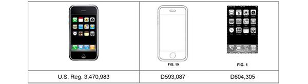 design patent apple samsung iphone