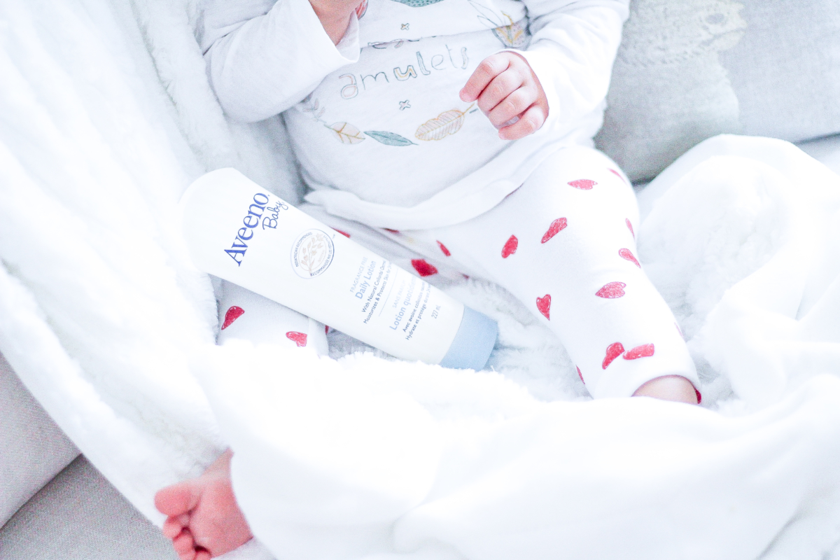 How to Take Care of Dry Baby Skin - With Aveeno Canada