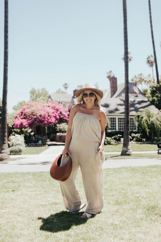 San Francisco blogger KatWalkSF wearing the Free People Making Waves One Piece for the Free People Lookbook