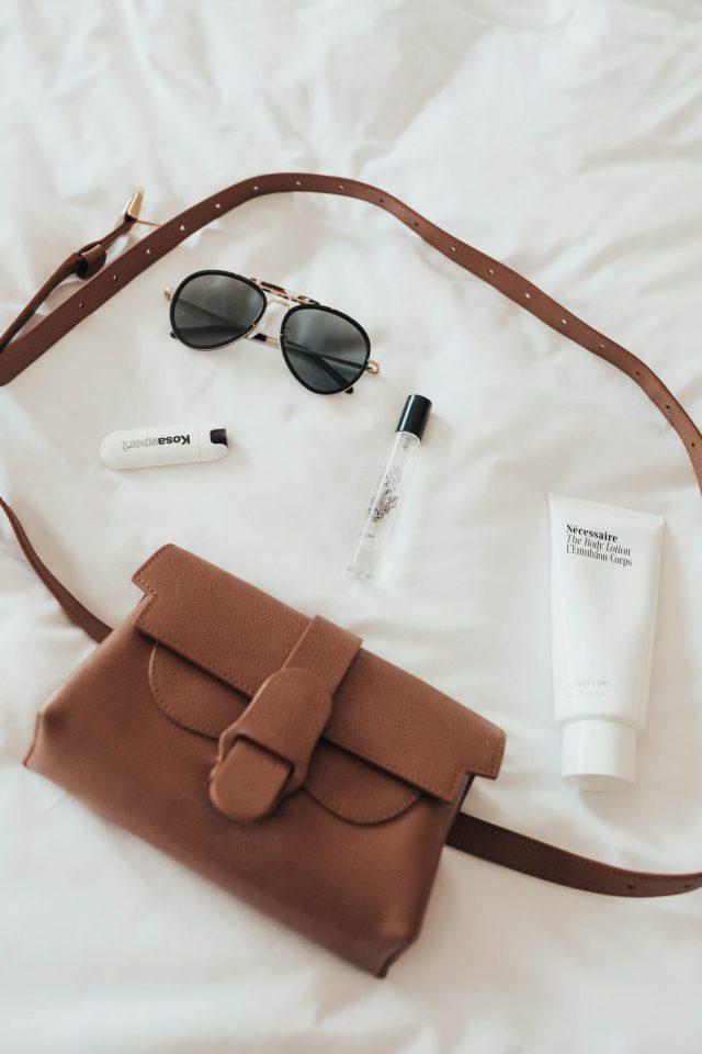 Nécessaire Review, Senreve Belt Bag, Sunglasses, Katwalksf