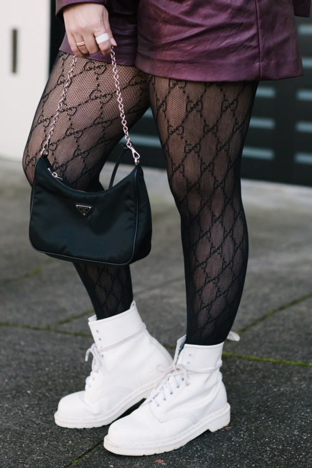 Gucci Intarsia Fishnet Tights, Gucci Black GG Tights, gucci intarsia fishnet tights, katwalksf, gucci tights, four seasons embarcadero, gucci shoes, black gucci tights