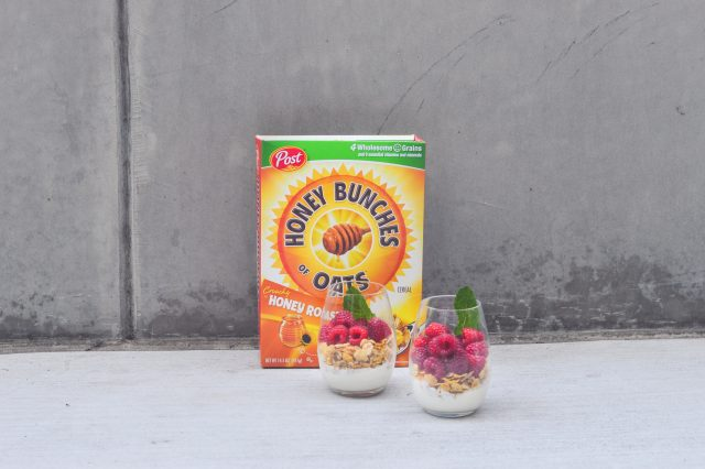 Easy Breakfast - Honey Bunches of Oats