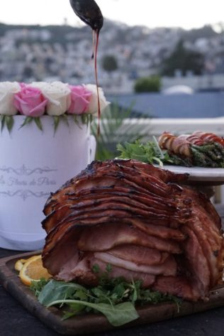 Ham, Hot Hams Of Instagram, Farmer Johns, Farmer Johns LA, Easter Recipe, Ham, Recipe, Bacon, I Love Bacon, MyLAChef, My La Chef, Les Fleurs De Paris, Chef Michael, Michael Gerbino, KatWalkSF, What I Ate, Kat Ensign, San Francisco Food Blogger