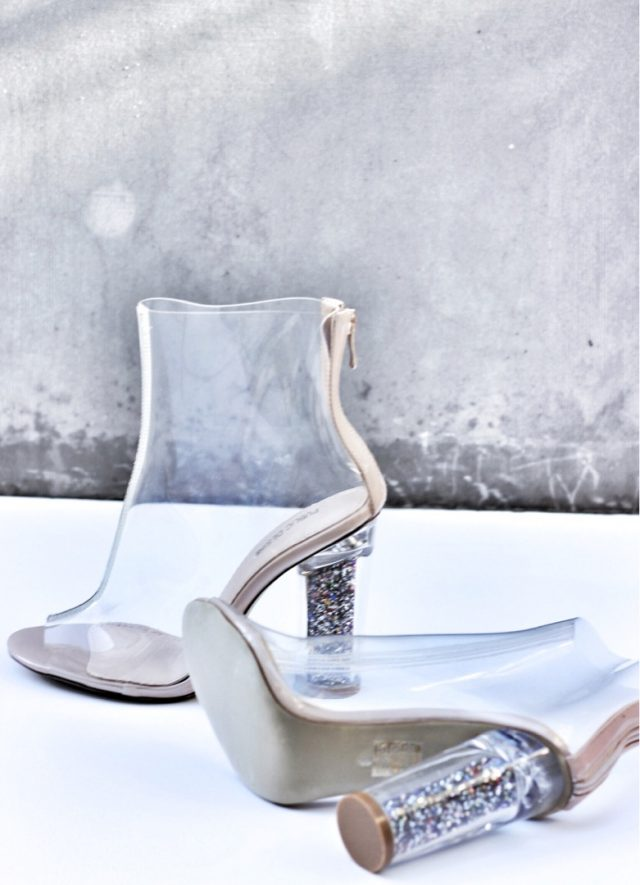 Public Desire - Clear Booties