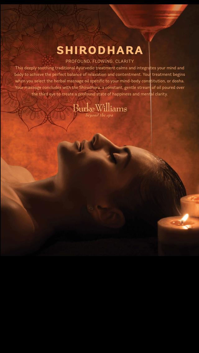 Burke Williams - Ayurveda Treatments