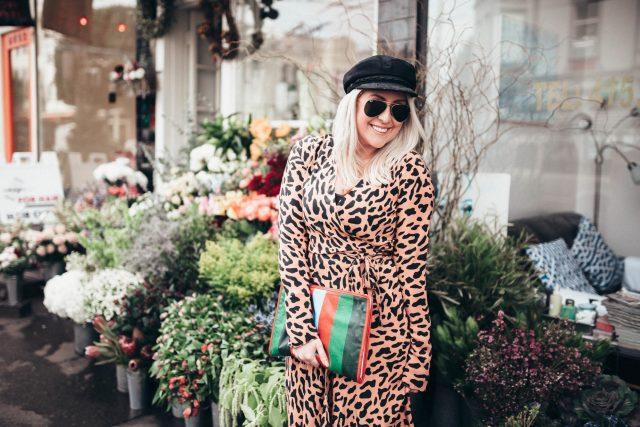 DVF, Diane Von Furstenberg, Long-Sleeve Woven Wrap Dress, My San Francisco, Flower Shop, OOTD, Street Style, Lookbook, Inspo, KatWalkSF, Kat Ensign, Kathleen Ensign, Fashion Blogger, Blogger Style, Fashionista, Fashion Diaries, Balenciaga Bazaar Pouch, Valentino Tango, Classic Style, Stylist
