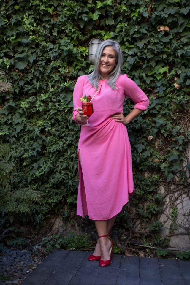 KatWalkSF, Kat Ensign, Kathleen Ensign, Brit + Co, Pinterest, Rosé, Rosé All Day, Rosé Party, Summer Party, Frose, Wine, Wine Party, Recipes, Edible Flowers, Pinterest Rosé, Recipe, Pinterest Blogger, Blogger Style, Top San Francisco Bloggers, Food Blogger, Pink, Pink Dress