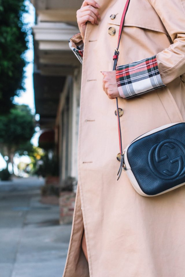 Trench Coat, Fall Fashion, Uniqlo, JW Anderson, Everlane, Everlane Day Heel, Gucci, Gucci Bag, Le Specs, KatWalkSF, Kathleen Ensign, Kat Ensign, San Francisco Blogger, Blogger Style, Top San Francisco Blogger, Fashionista, Fashion Diaries, Karen Walker, SF Blogger