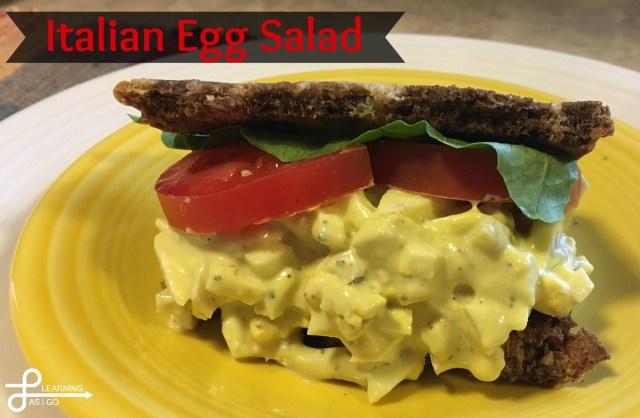 Italian Egg Salad