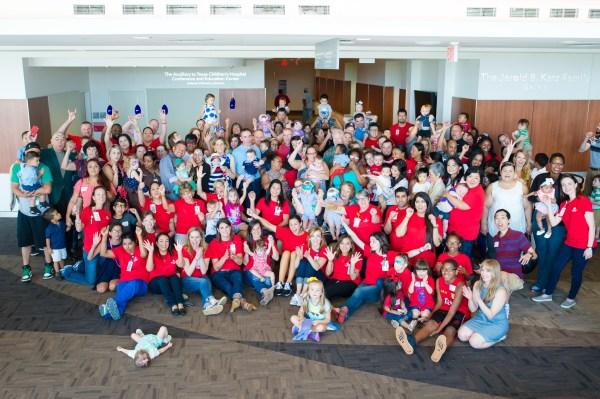 Former NICU Babies Reunite with Caregivers at Texas ...
