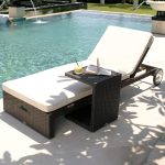 Cuatro Chaise Lounge Side Table High Quality Patio Furniture Katzberry Home Decor
