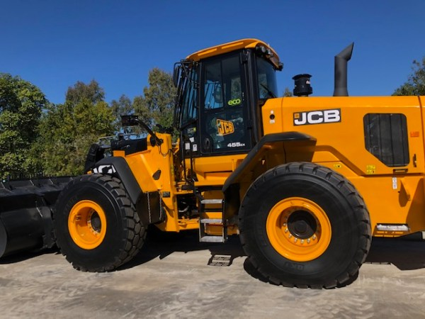 To show a canvas seat cover for a JCB Wheel Loaders