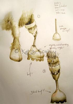 Wonky Donkey Original Sketch