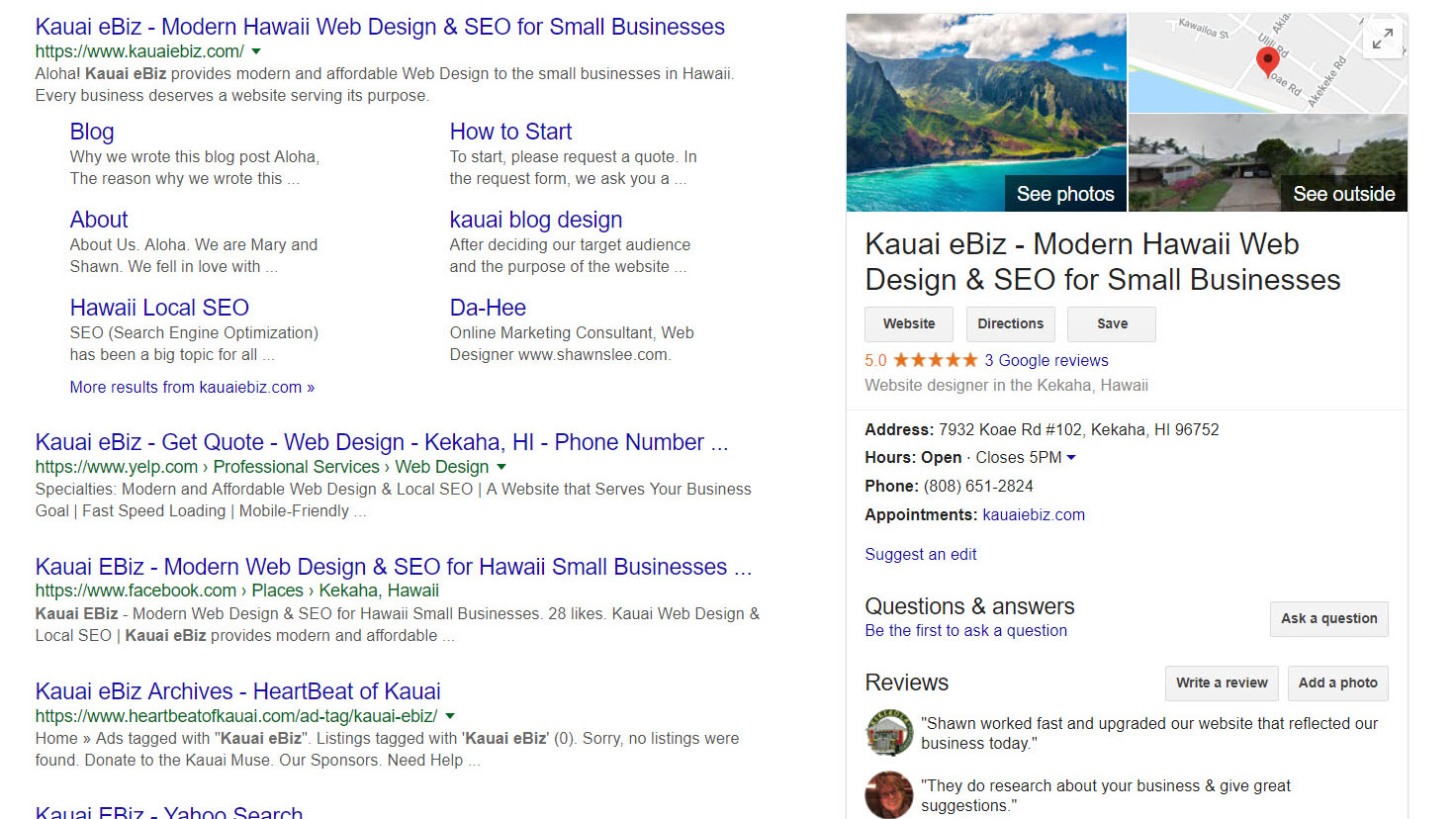 How to find the link to Google My Business page