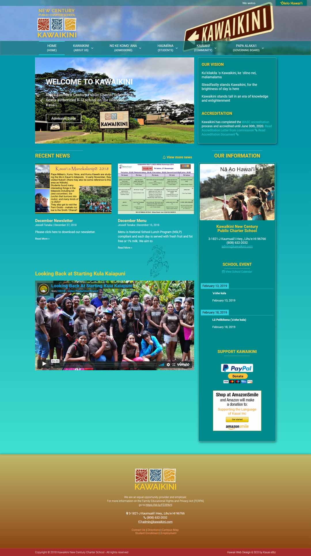 Public Charter School Website