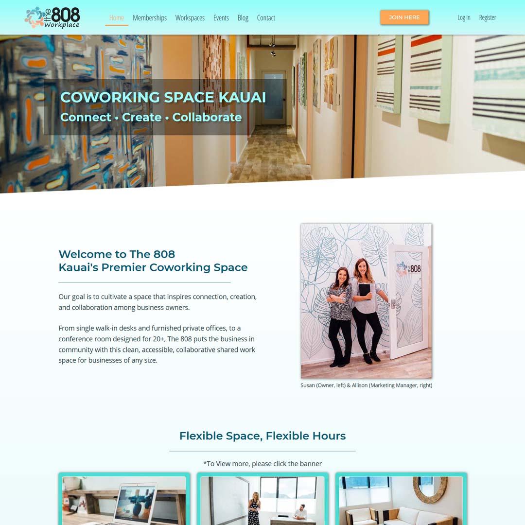 The 808 Coworking Space Kauai