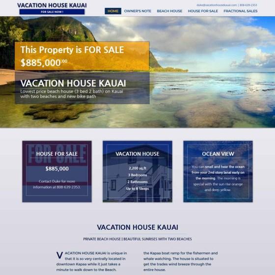 Vacation House Kauai For Sale Website