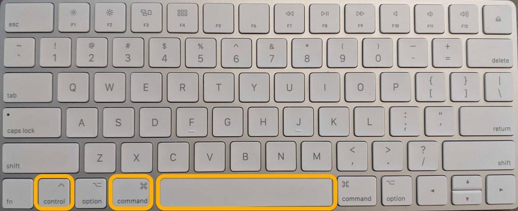 emoji shortcut keyboard on Mac