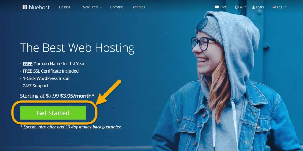 Recommendation for our clients' website hosting-Bluehost