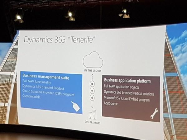 Dynamics365TenerifeCloudOnPremise