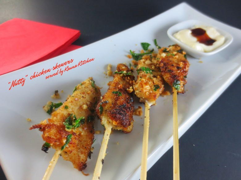 Nigerian Chicken kebabs