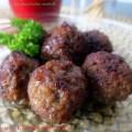 Jam Glazed meatballs