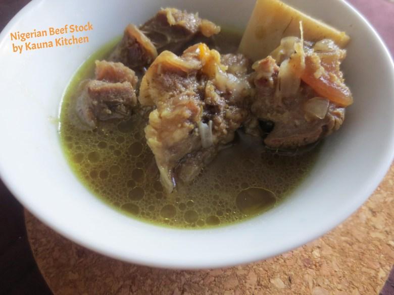 Nigerian beef stock